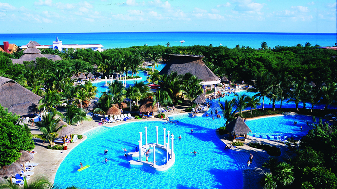 The Iberostar Paraiso Beach Features 7 Bars Throughout Resort Including Three Swim Up Pool
