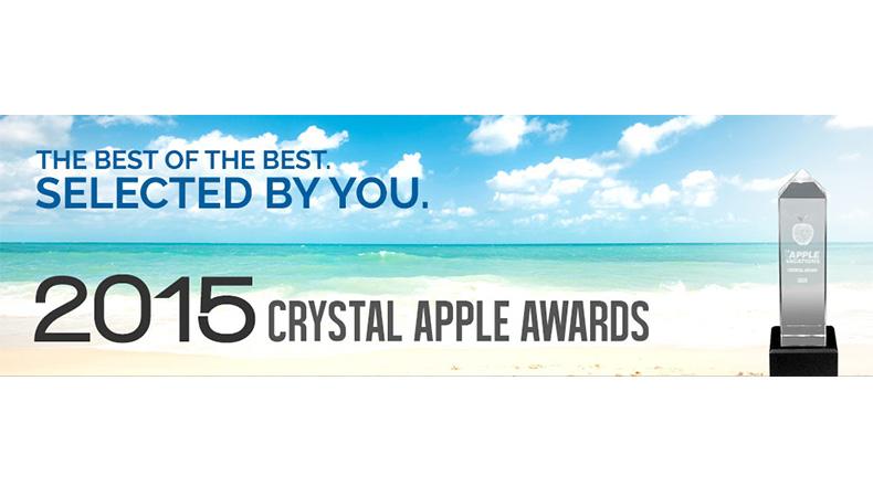 Apple Vacations 2015 Crystal Apple Awards
