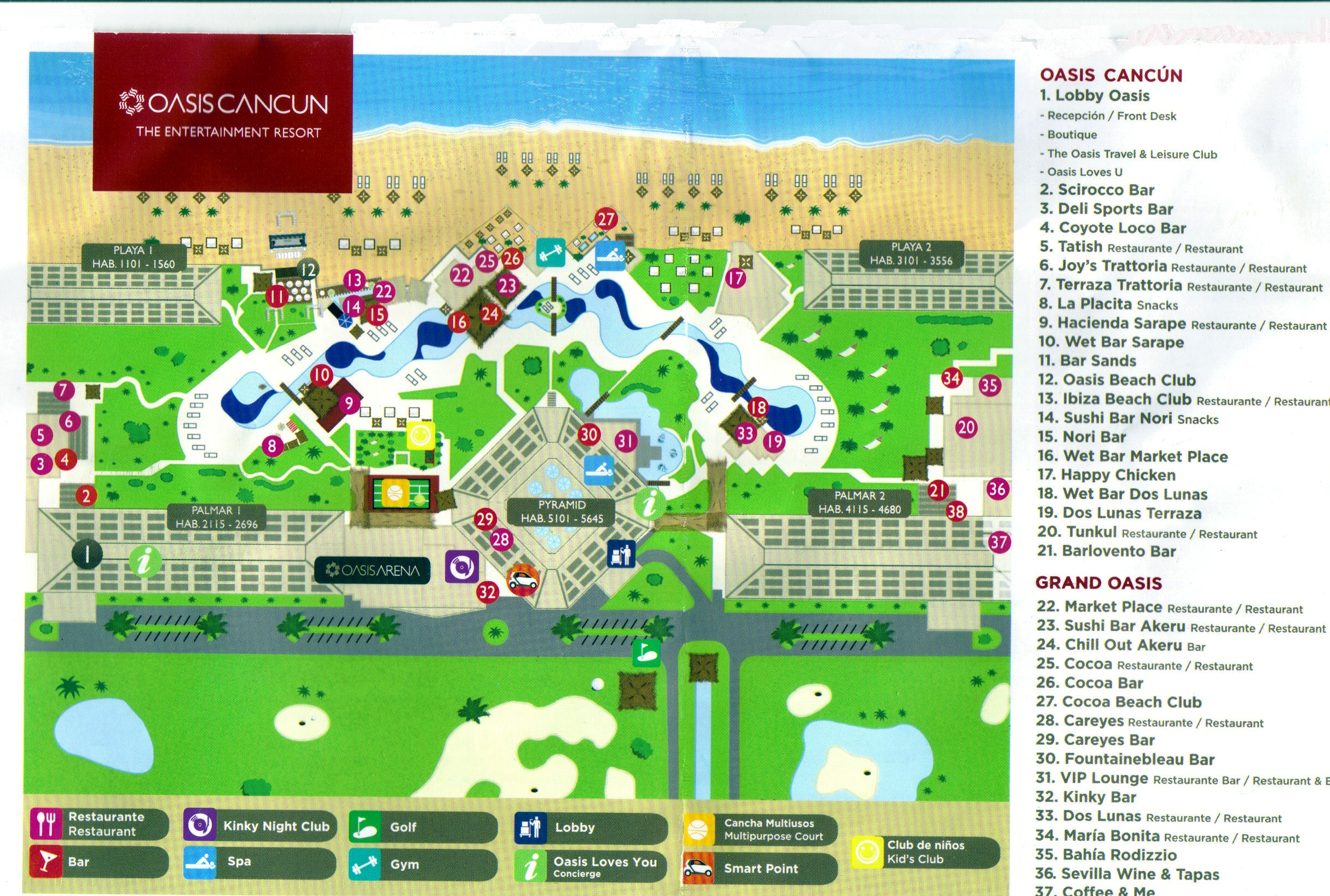 grand oasis cancun resort map 20 Inspirational Punta Cana Princess Resort grand oasis cancun resort map