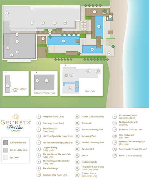 Secrets The Vine Cancun Resort Amp Spa Travel By Bob