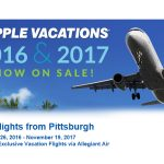 Pittsburgh Non-Stop Charter Schedule Holiday 2016 & Winter 2017