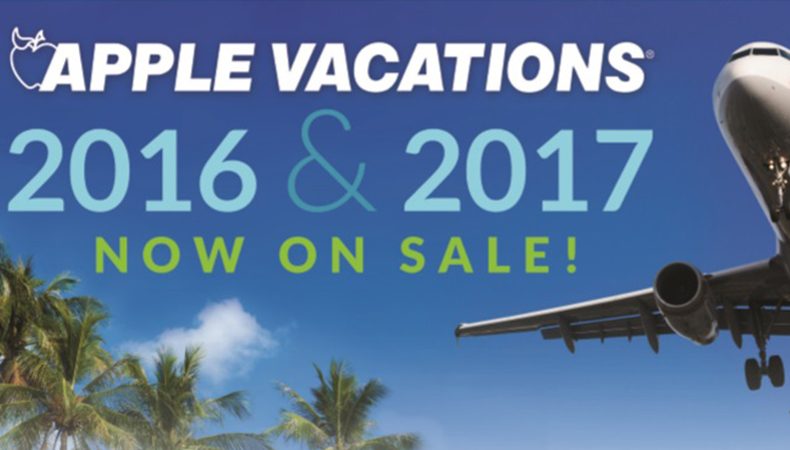 Apple Vacations | Holiday 2016 & 2017 Non-Stop Charter Schedule