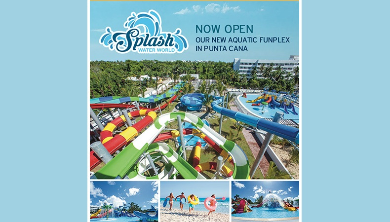 RIU Resorts Opens Splash Water World Waterpark in Punta Cana!