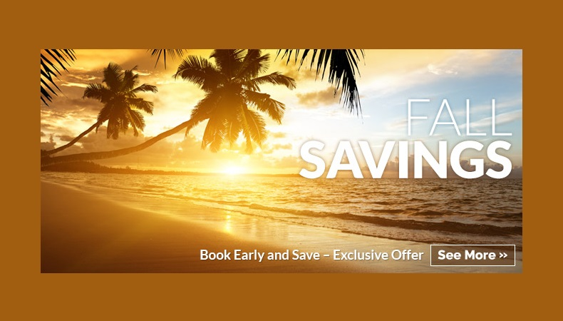 Fall Savings to Mexico, Caribbean, and Central America!