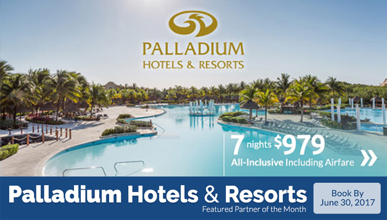 All-Inclusive Vacation Deals to Palladium Hotels & Resorts!