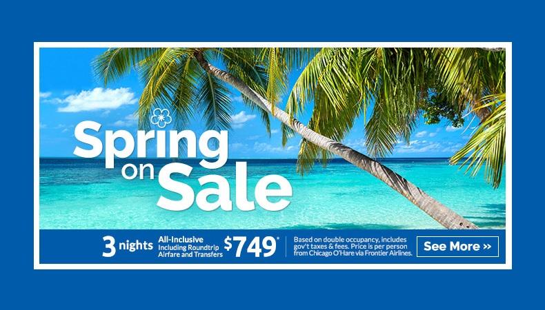Spring On Sale!