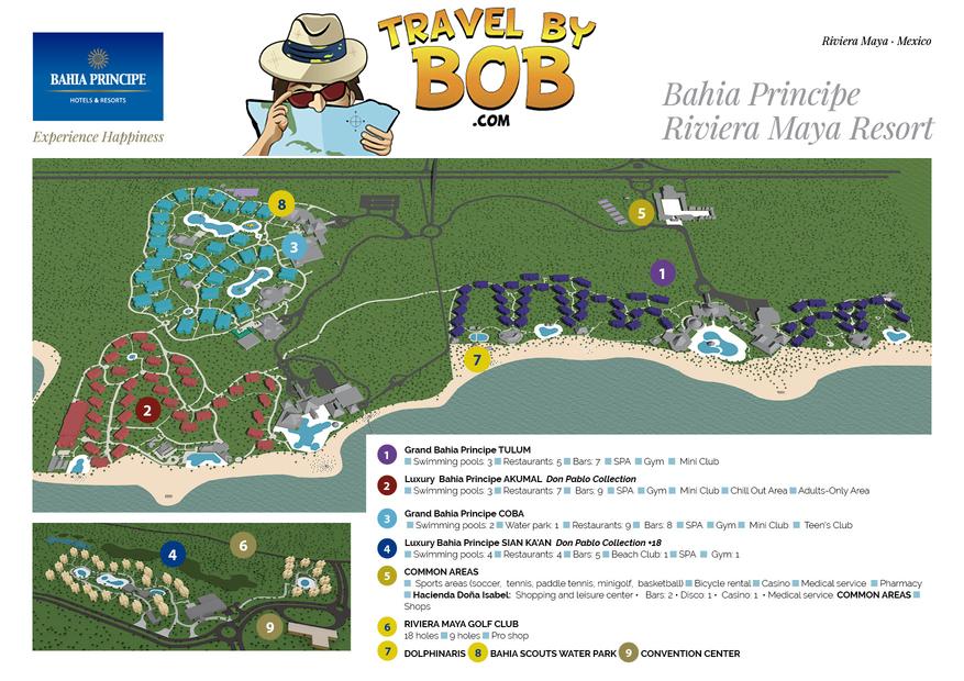 Luxury Bahia Principe Akumal Travel By Bob