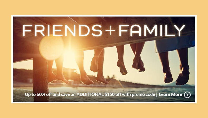 Apple Vacations' Friends & Family Sale!