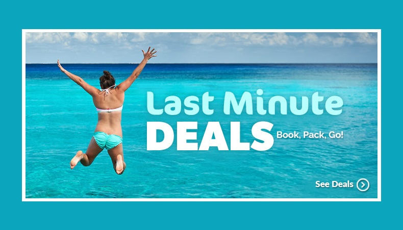 last minute vacation deals from minneapolis mn