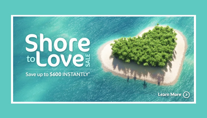 Shore to Love Sale   2019 & 2020 Vacations!