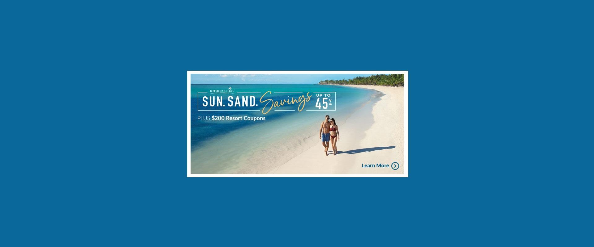 AMResorts-Sun-Sand-Savings-Banner