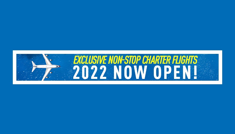 Vacation Express 2022 Non-Stop Charter Flight Schedules