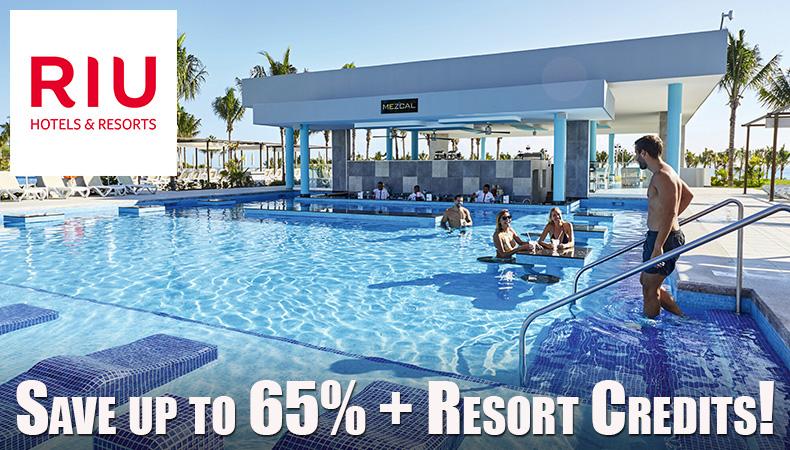 RIU Hotels & Resorts On Sale!