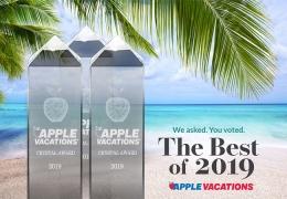 Apple Vacations Announces 2019 Crystal Apple Awards!
