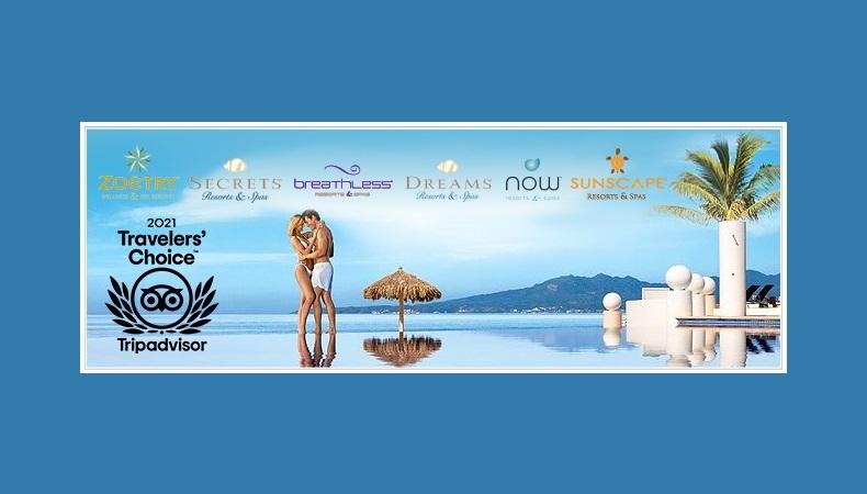 46 AMResorts Honored With Tripadvisors Travellers Choice Awards