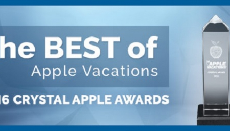 Apple Vacations 2016 Crystal Apple Awards!