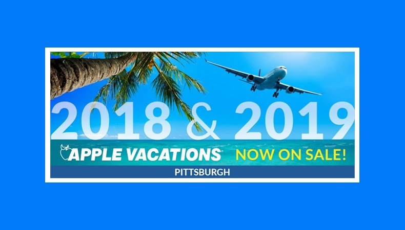 Apple Vacations Releases 2018-2019 Non-Stop Charter Schedule from Pittsburgh!