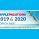 Apple Vacations' Holiday 2019 & 2020 Non-Stop Charter Schedules