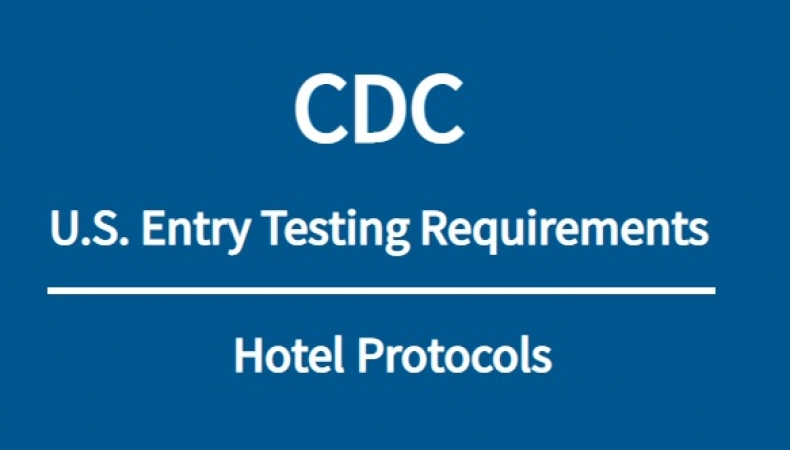 CDC US Testing Requirements | Hotel Protocols