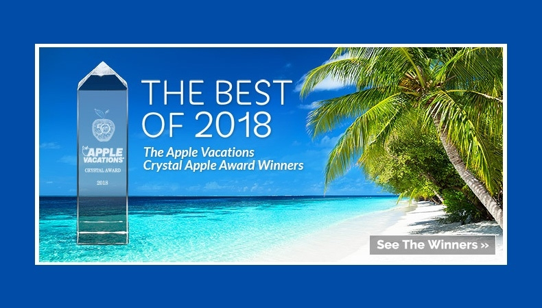 Apple Vacations announces 2018 Crystal Awards!