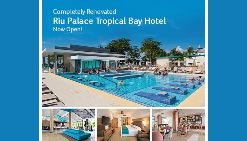 RIU Palace Tropical Bay Re-Opens